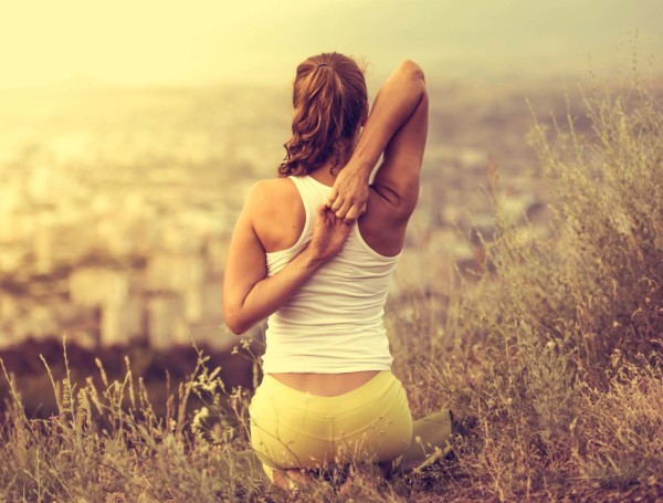 you'll never be good at yoga